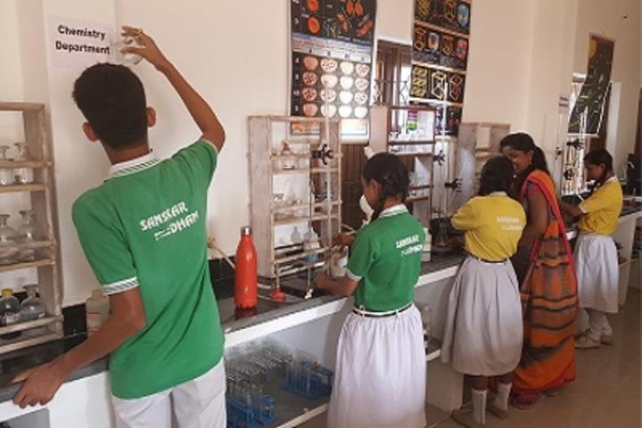 Shri Rajendra Vidhya Sanskar Dham-Chemistry Lab