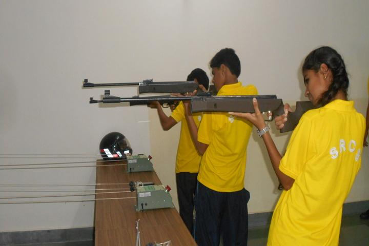 Shri Ram Centennial School-Gun Shooting