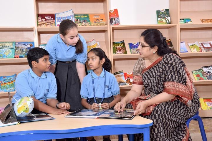 Shri Ram Centennial School-Library