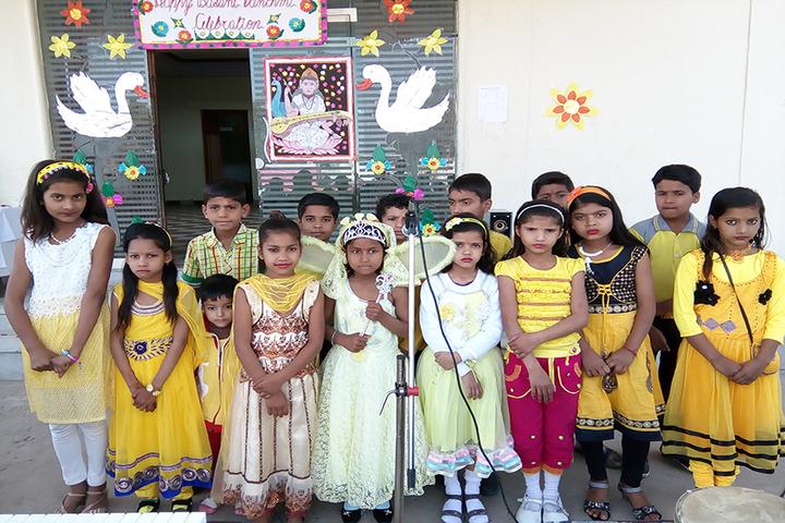 Shri Ramji Lal Senior Secondary School-Basant Panchami Celebrtions