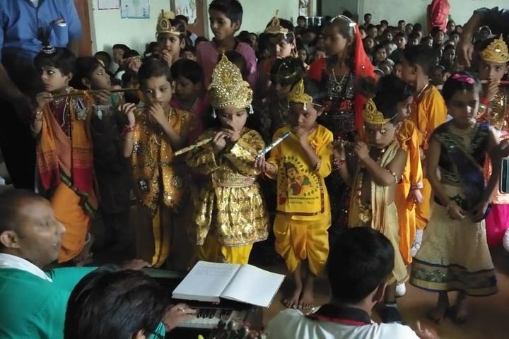 Shri Ramji Lal Senior Secondary School-Krishnastami Celebrations