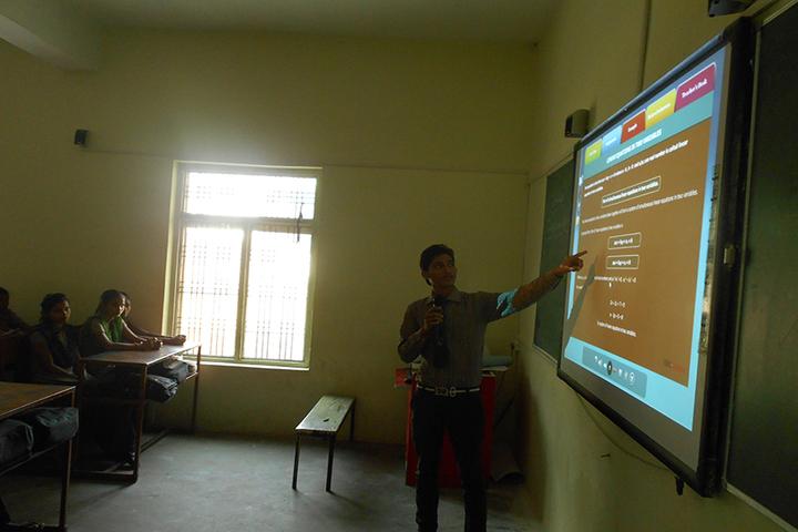 Shri Ramji Lal Senior Secondary School-Smart Class Room
