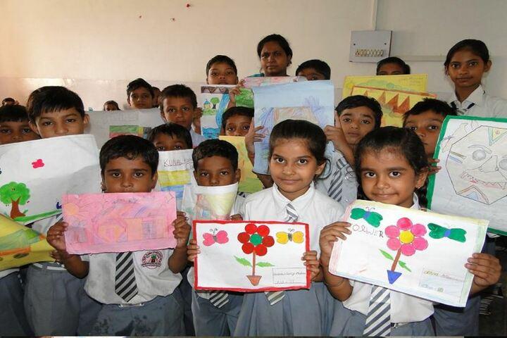 Shri Rawatpura Sarkar Shanti International Public School-Art Compitition