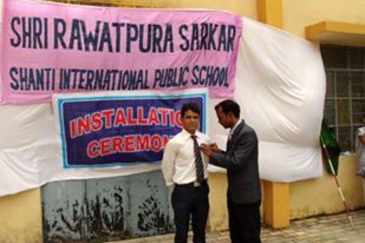Shri Rawatpura Sarkar Shanti International Public School-Ceremony