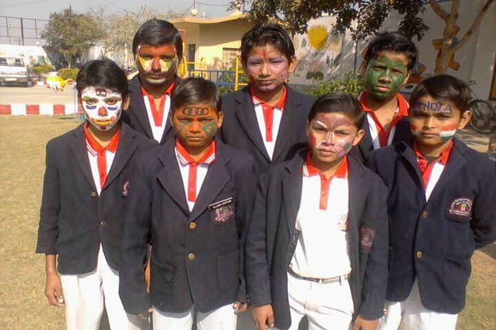 Shri Rawatpura Sarkar Shanti International Public School-Face Painting