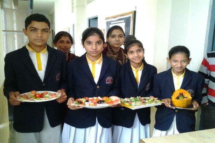 Shri Rawatpura Sarkar Shanti International Public School-Food Making Compitition