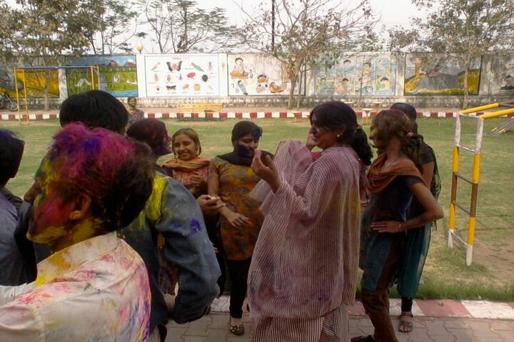 Shri Rawatpura Sarkar Shanti International Public School-Holi Celebrations