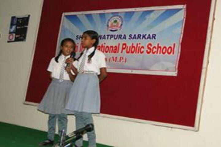 Shri Rawatpura Sarkar Shanti International Public School-Singing Compitition