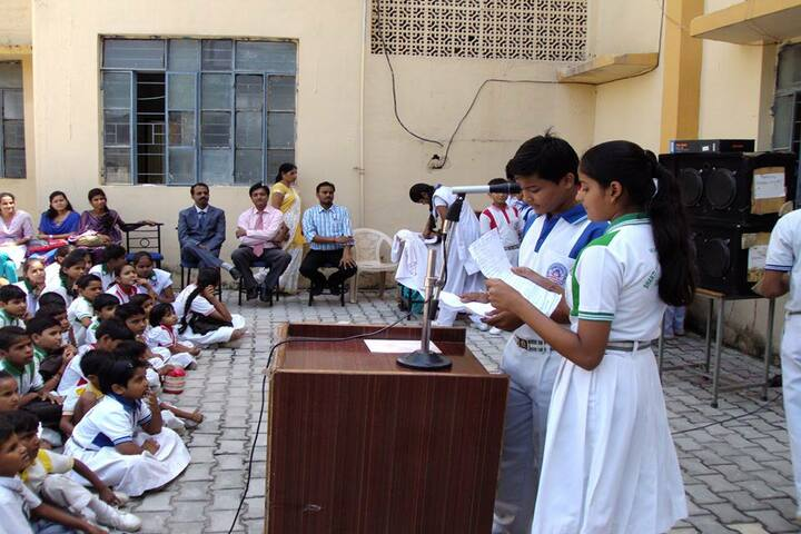 Shri Rawatpura Sarkar Shanti International Public School-Speech Activity