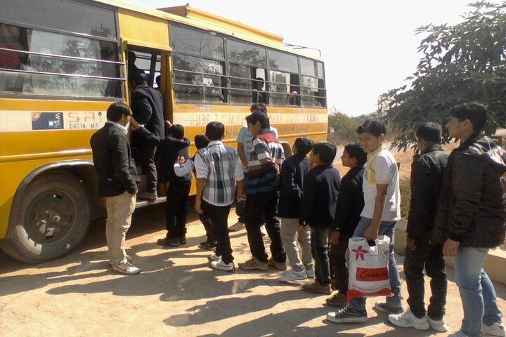Shri Rawatpura Sarkar Shanti International Public School-Transport