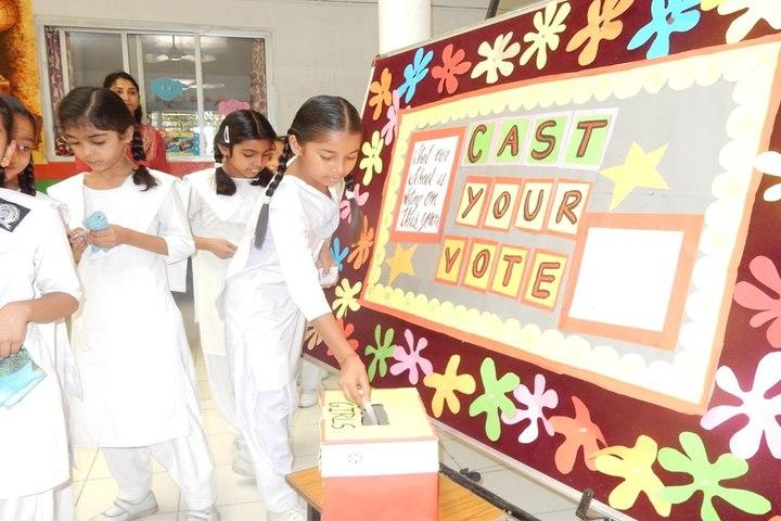 Shri Sai Academy-Elections
