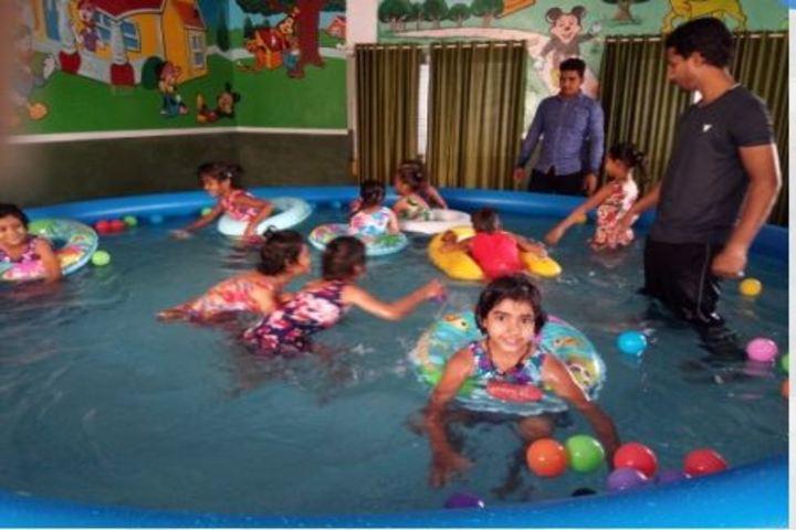 Shri Sai Public School-Swimming Pool Activity