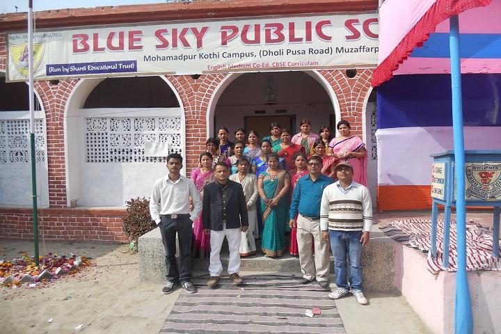 Blue Sky Public School-Entrance