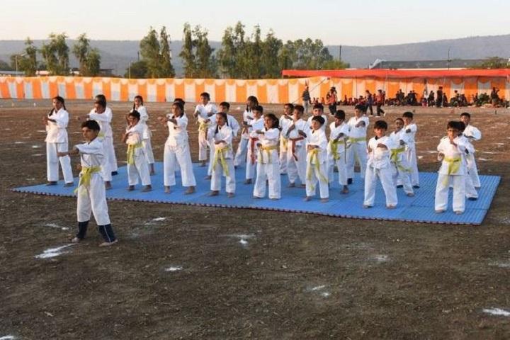 Sri Aurobindo Public School-Karate