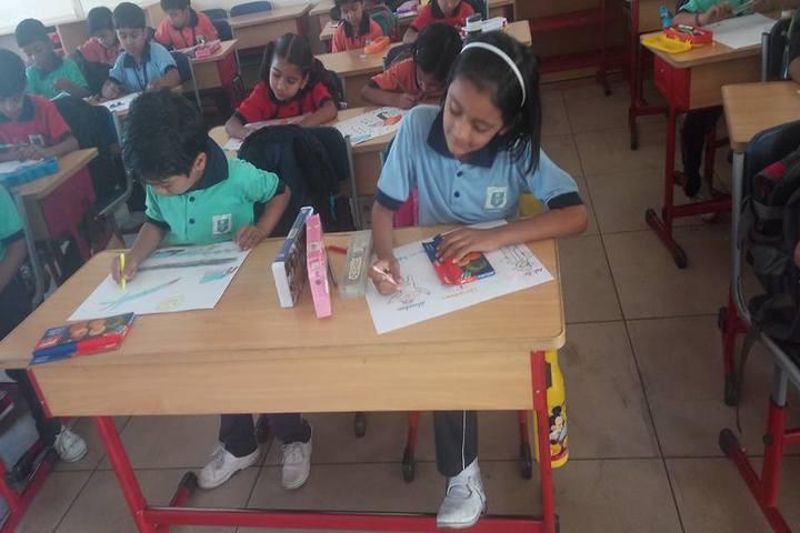 Sri Aurobindo Public School-Art Compitition