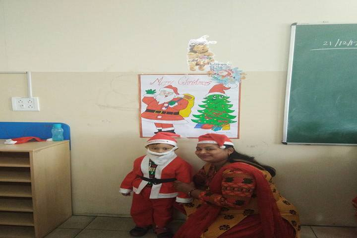 Sri Aurobindo Public School-Christmas Celebration