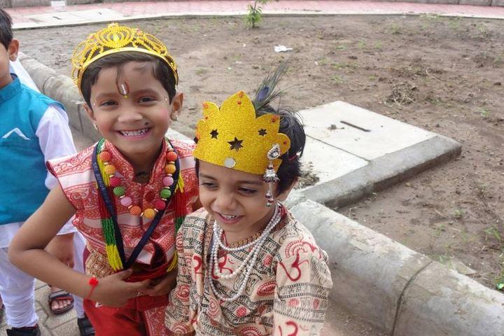 Sri Aurobindo Public School-Krishnastami Celebrations