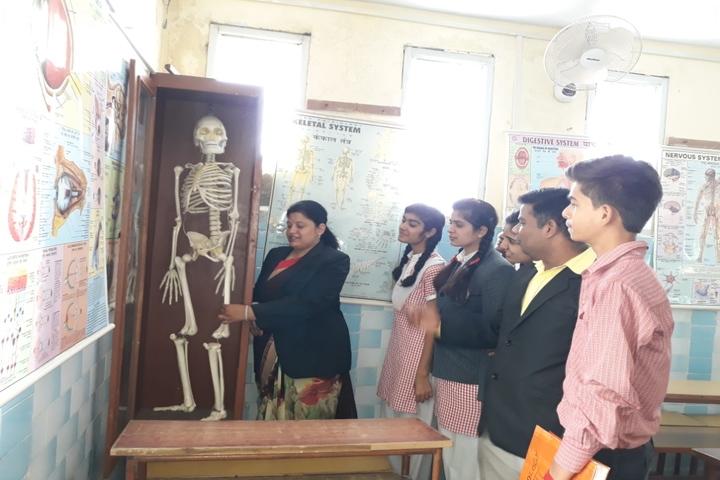 St Annes Higher Secondary School-Biology Lab