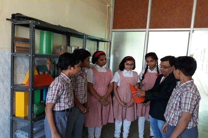 St Annes Higher Secondary School-Maths Lab