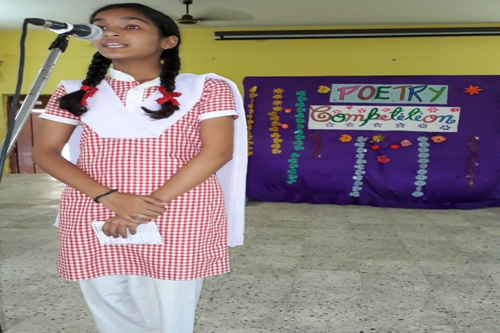 St Annes Higher Secondary School-Poetry Compitition
