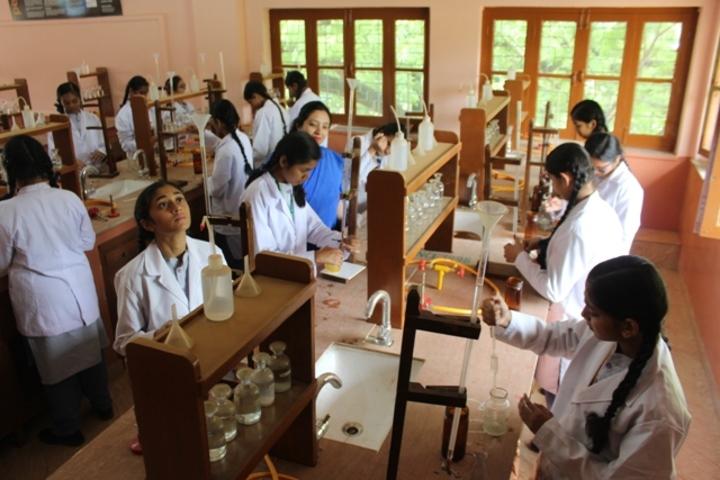 St Marys Higher Secondary School-Chemistry Lab