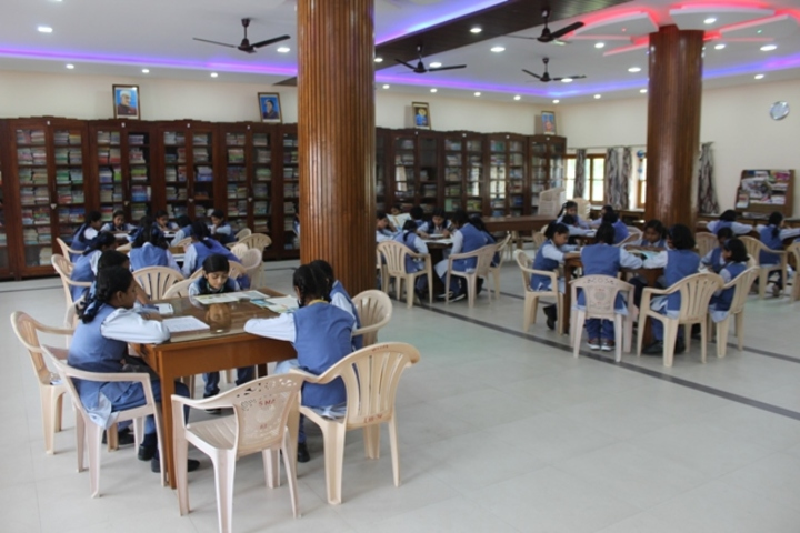 St Marys Higher Secondary School-Library