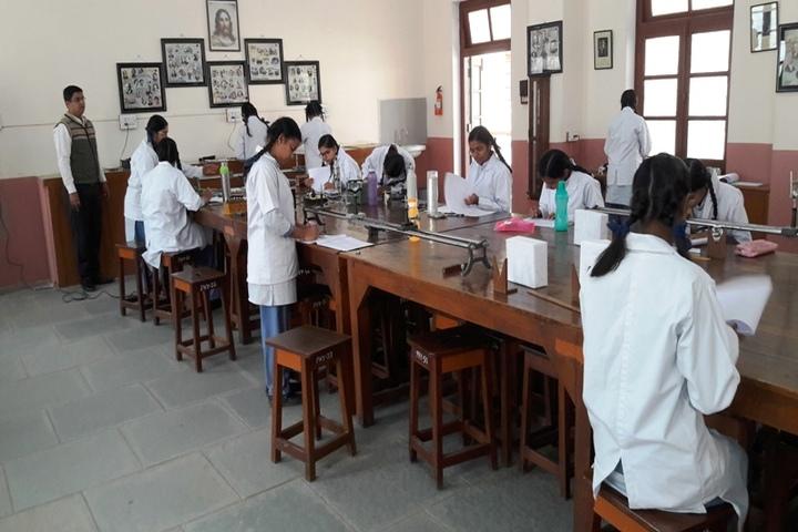 St Marys Higher Secondary School-Physics Lab
