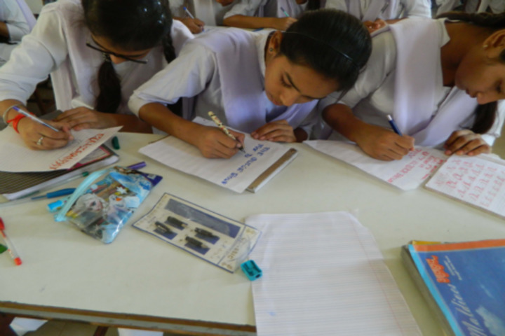St Pauls Convent School-Calligraphy Compitition