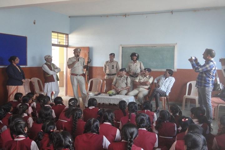 St Thomas Convent Secondary School-Police Suraksha Meeting