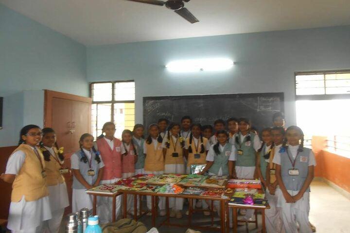 St Thomas Convent Secondary School-Rakhi Making Compitition