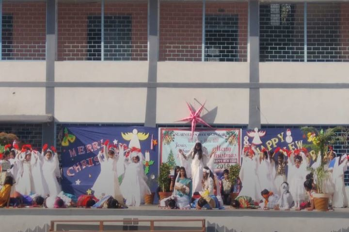 St Arnolds English Medium High School-Christmas Celebrations