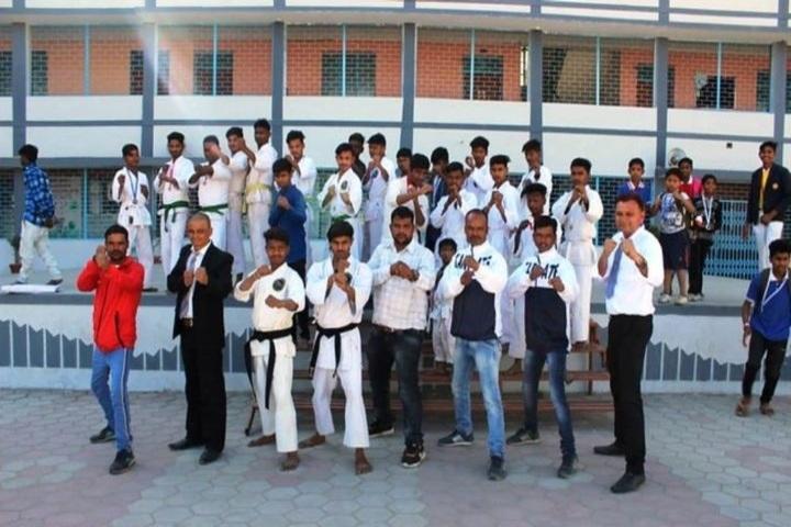 St Arnolds English Medium High School-Karate team