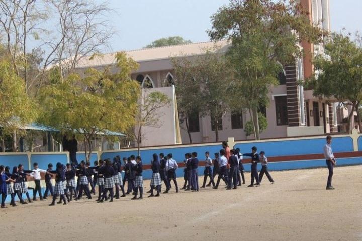 St Arnolds English Medium High School-Play ground