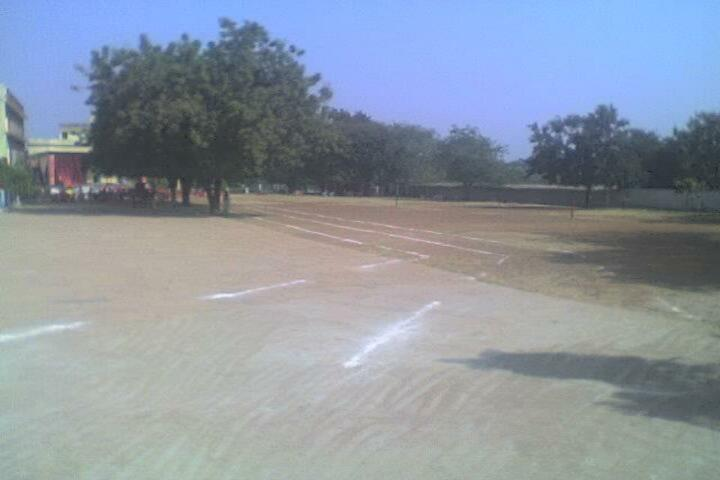 St Charles Higher Secondary School-Playground