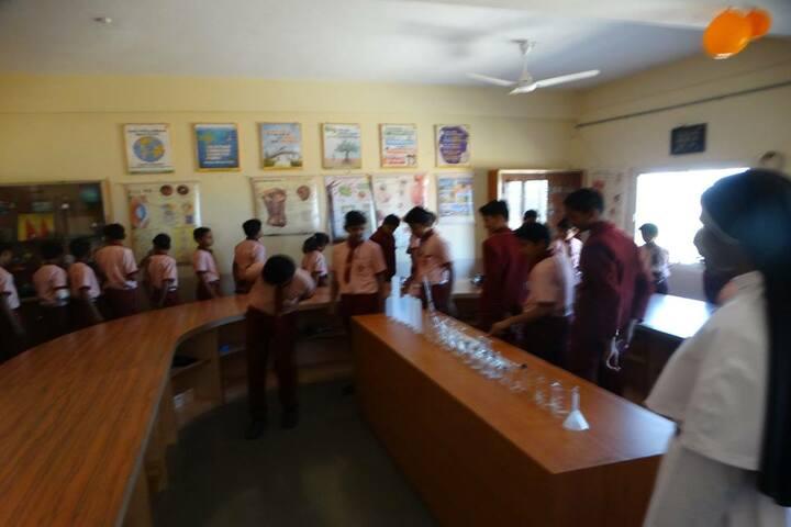 St Francis De Sales Senior Secondary School-Chemisry lab