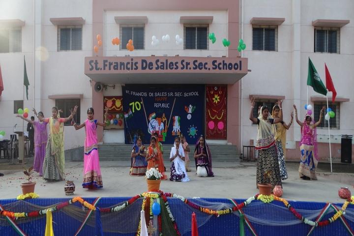 Francis De Sales Senior Secondary School-republic day celebrations