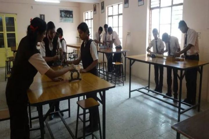 St Francis Higher Secondary School-Physics Lab