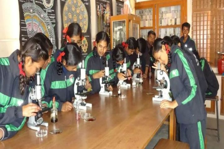 St Francis Higher Secondary School-Biology Lab