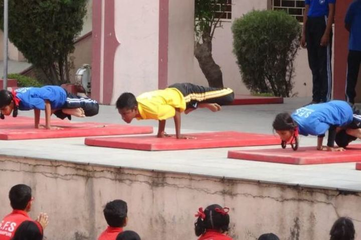 St Francis Higher Secondary School-Yoga