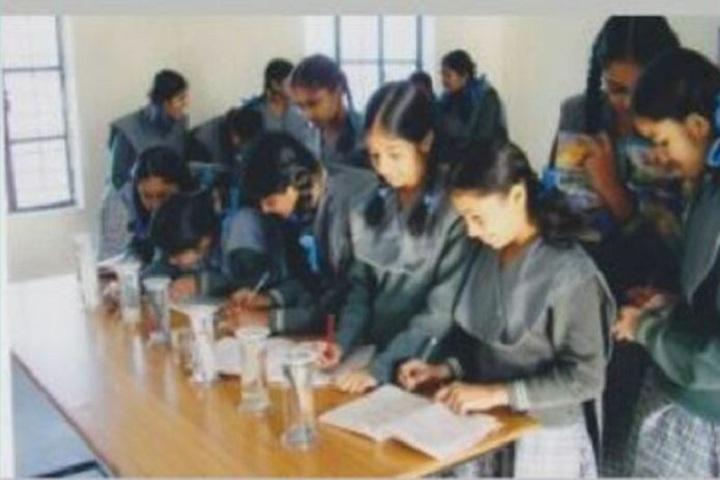 St George English Medium School-Bio Lab
