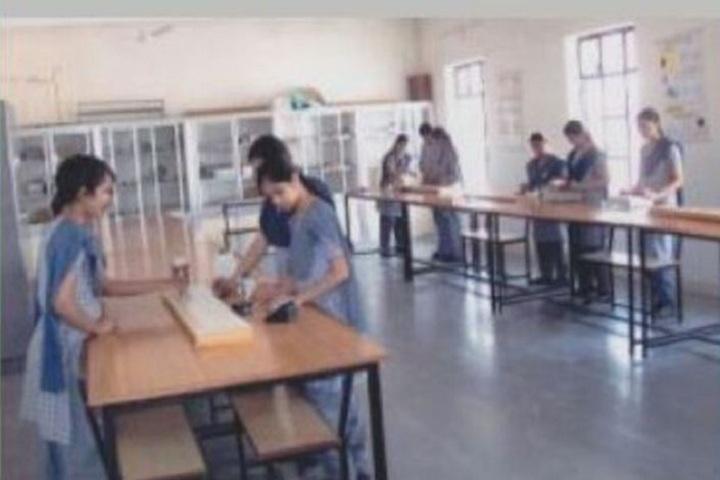 St George English Medium School-Physics lab