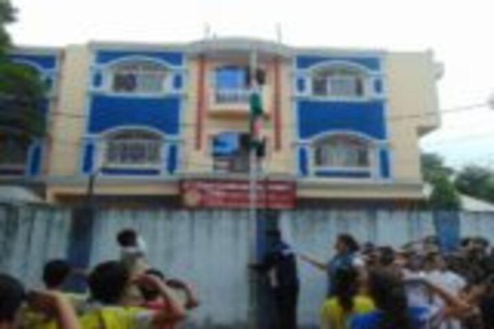 St Mary Champion Higher Secondary School-Flag Hoisting