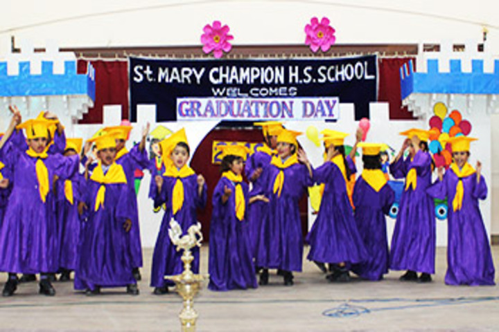 St Mary Champion Higher Secondary School-Graduation