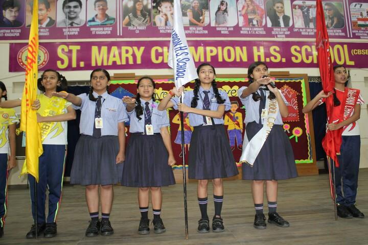 St Mary Champion Higher Secondary School-Pledge