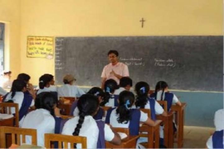 St Mary S Convent Senior Secondary School-Classroom