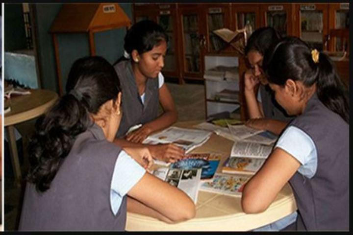 St Marys English Medium School-Library
