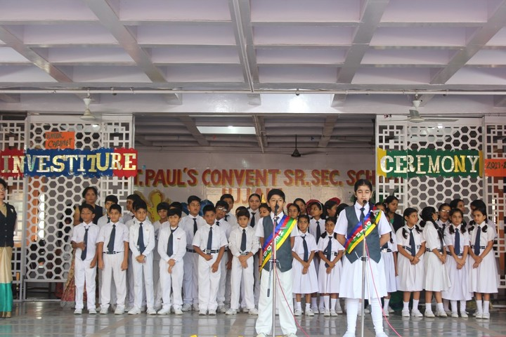St Pauls Convent Senior Secondary School-Investiture Ceremony