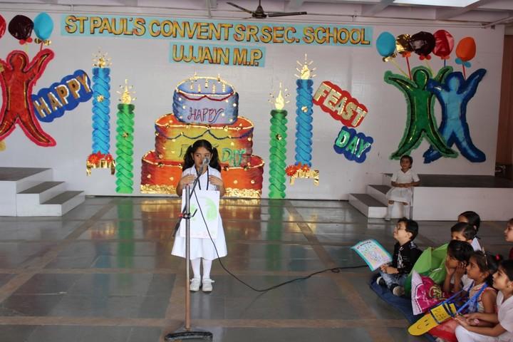 St Pauls Convent Senior Secondary School-Recitation