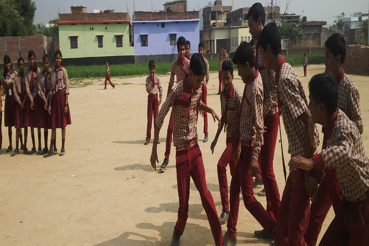 Buddha Mission School Bihar-Play Ground