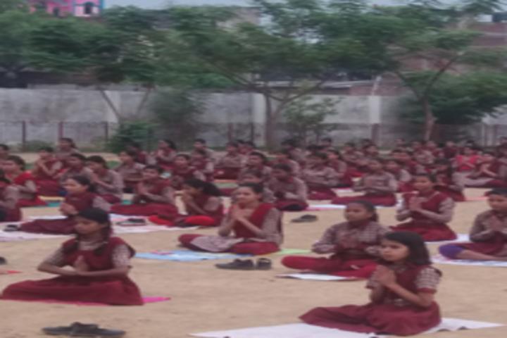 Buddha Mission School Bihar-Yoga Day